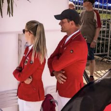 Maurice & Justine im Nationenpreisteam beim CSIO Prag